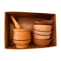 Mini Mortar & Pestle With Bowls