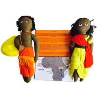 African Storytelling Doll Set
