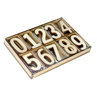 Wooden Numbers 50pcs