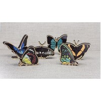 Australian Butterfly Figurine Set