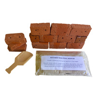Brick Builder Set Portable Play