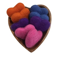 Heart Bowl With Felt Hearts