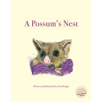 A Possum's Nest book and Possum Puppet