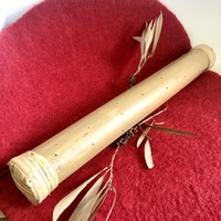 Bamboo Rainstick Natural 40cm