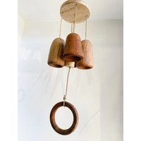 Natural Wood Bell.