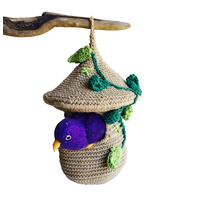 Bird House & Bird Crochet