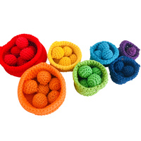 Rainbow Crochet Sorting Set PPJ