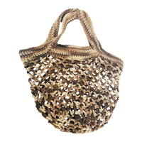 Crochet String Bag Multicolour