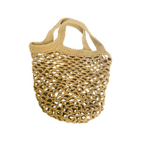 Crochet String Bag Natural