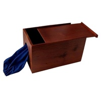 Touchy Feely Dark Mahogany Box