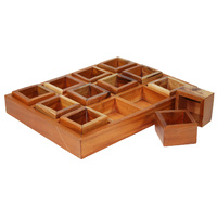 Compartment Tray 12 Sections & Boxes