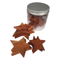 Stars Wooden Sorting