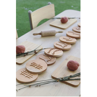Indigenous Tracking Set in Leather Pouch