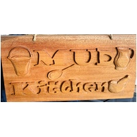 Mud Kitchen Sign Large