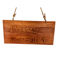 Wood Sign Fairy Garden Large
