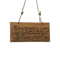 Cubby House Small Sign
