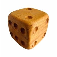 Dice Wooden X-Large 10cm x 10cm