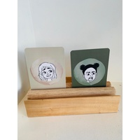 Display Holder Double Postcard Size / A4