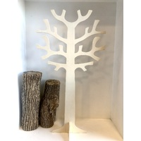 Natural Wooden Round Tree 35cm High