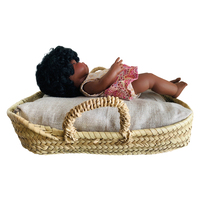 Moses Basket Doll Bed