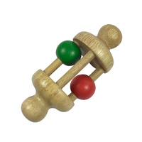 Rattle Baby Red & Green Ball