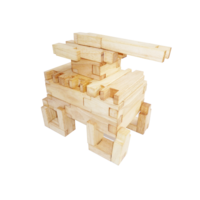 Wooden Blocks - Interlocking