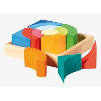 Square Circles Block & Tray Set