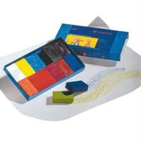 Beeswax Block Waldorf Colour Crayons Set 12