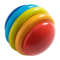 Rainbow Ball Stacking