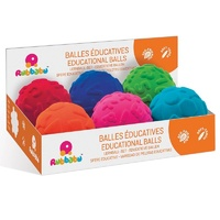 Educational Sensory Balls Set of 6