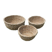 Nesting Set of 3 Seagrass Baskets