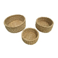 Round Stacking Baskets Set of 3