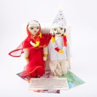 Indian Wedding Storytelling Doll Set