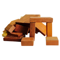 Vintage Jarrah Building Blocks