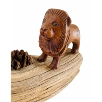 Lion Hand Carved