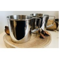 Metal Cup Set of 2