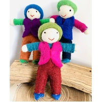 Felt Friends Set 3 Boys