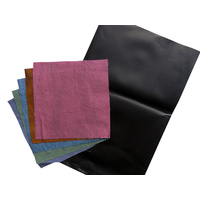 Cyanotype 15x15cm Cotton Squares Mixed Colours 10 Pack