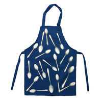 Cyanotype Apron White Adult