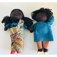 Cultural 16cm Dolls Boy & Girl Set - Indian