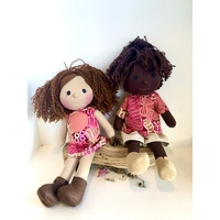 Doll Set 35cm Bush Melon Pink Style 1