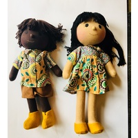 Doll Set 35cm Meeting Places ECRU Style 2