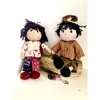 Doll Set 27cm Bush Melon Boy & Girl #1 OOAK