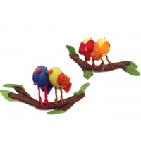 Birds on Swing - Felt
