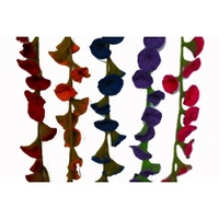 Flower Garland 176cm Assorted Colours