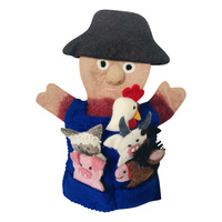 Old Macdonald Hand/Finger Puppet Set
