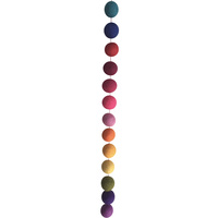 Rainbow Ball Hanging Garland