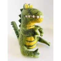 Crocodile Needle Felted