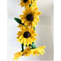 Sunflower Felt Garland