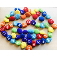 Rainbow Alphabet Oebble Pebbles